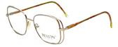 Revlon Designer Eyeglasses 1004 in Satin Gold 54mm :: Progressive