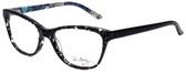 Vera Bradley Designer Eyeglasses Emerson in Blue Bayou 53mm :: Custom Left & Right Lens