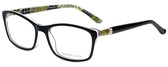 Ana & Luca Designer Eyeglasses Francesca in Black 52mm :: Rx Bi-Focal