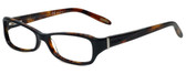 Ralph Lauren Designer Eyeglasses RA7038-953 in Brown 52mm :: Rx Single Vision