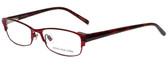 Jones New York Designer Eyeglasses J463 in Red 53mm :: Progressive
