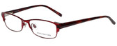 Jones New York Designer Reading Glasses J463 in Red 53mm