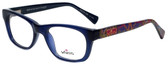 Whims Designer Eyeglasses TRO9141AK in Navy 50mm :: Progressive