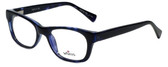 Whims Designer Eyeglasses TRO9141-BL in Blue 50mm :: Progressive