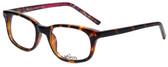 Whims Designer Eyeglasses TR5885AK in Tortoise Pink 50mm :: Rx Bi-Focal