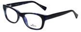 Whims Designer Reading Glasses TRO9141-BL in Blue 50mm