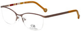 Carolina Herrera Designer Eyeglasses VHE060-0R15 in Copper 54mm :: Custom Left & Right Lens