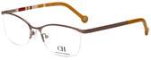 Carolina Herrera Designer Eyeglasses VHE060-0R15 in Copper 54mm :: Progressive