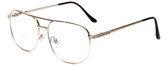 Calabria 1106CB Metal Aviator Bi-Focal Reading Glasses