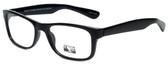 Gotham Style Designer Eyeglasses G229 in Black 60mm :: Custom Left & Right Lens