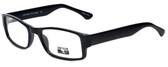 Gotham Style Designer Eyeglasses G232 in Black 60mm :: Custom Left & Right Lens