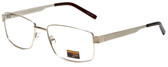 Gotham Style Designer Eyeglasses GS14 in Gold 59mm :: Custom Left & Right Lens