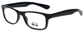 Gotham Style Designer Eyeglasses G229 in Black 60mm :: Progressive