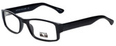Gotham Style Designer Eyeglasses G232 in Black 60mm :: Progressive