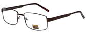 Gotham Style Designer Eyeglasses GS13 in Brown 58mm :: Progressive