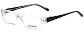 Converse Designer Eyeglasses Q004 in Crystal 51mm :: Custom Left & Right Lens