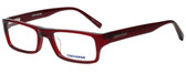 Converse Designer Eyeglasses Q007 in Burgundy 52mm :: Rx Single Vision