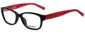 Converse Designer Eyeglasses Q035 in Black 49mm :: Rx Single Vision