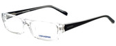 Converse Designer Eyeglasses Q004 in Crystal 51mm :: Progressive