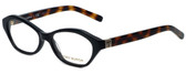 Tory Burch Designer Eyeglasses TY2044-1385-52 in Black Tortoise 52mm :: Progressive
