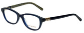 Tory Burch Designer Eyeglasses TY2042-1304 in Navy 51mm :: Rx Bi-Focal