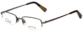 Orvis Designer Eyeglasses DragonFly in Gunmetal 49mm :: Custom Left & Right Lens