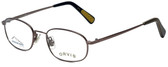 Orvis Designer Eyeglasses Mission in Brown 48mm :: Custom Left & Right Lens