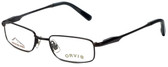 Orvis Designer Eyeglasses Crossing in Black 47mm :: Progressive