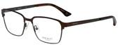 Hackett Designer Eyeglasses HEK1168-100 in Brown 53mm :: Custom Left & Right Lens