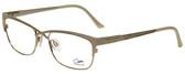 Cazal Designer Eyeglasses Cazal-4214-003 in White Gold 53mm :: Rx Bi-Focal