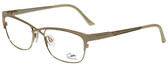 Cazal Designer Reading Glasses Cazal-4214-003 in White Gold 53mm