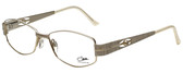 Cazal Designer Eyeglasses Cazal-1089-003 in White Gold 52mm :: Custom Left & Right Lens