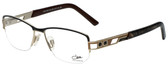 Cazal Designer Eyeglasses Cazal-1085-002 in Black Bronze 53mm :: Rx Single Vision