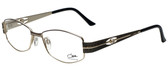 Cazal Designer Eyeglasses Cazal-1089-002 in Charcoal Gold 52mm :: Rx Single Vision