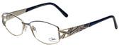 Cazal Designer Eyeglasses Cazal-1208-001 in Blue 52mm :: Rx Single Vision