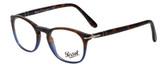 Persol Designer Eyeglasses Terra e Oceano PO3007V-1022 in Tortoise Blue Gradient 48mm :: Progressive