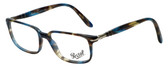 Persol Designer Eyeglasses PO3013V-973 in Brown Spotted Blue 51mm :: Progressive