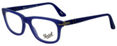 Persol Designer Eyeglasses PO3029V-9003 in Matte Blue 52mm :: Progressive