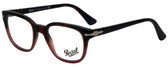 Persol Designer Eyeglasses PO3093V-9025-48 in Tortoise Red Gradient 48mm :: Progressive