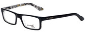 Arnette Designer Eyeglasses Lo-Fi AN7060-1119 in Black on Graphics 47mm :: Progressive