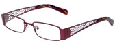 Calabria Designer Eyeglasses 812-PUR in Purple 49mm :: Progressive