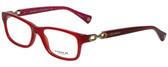 Coach Designer Eyeglasses HC6052-5237 in Burgundy/Pink 52mm :: Progressive