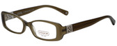 Coach Designer Eyeglasses HC6006B-5042 in Olive 51mm :: Rx Bi-Focal