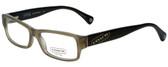 Coach Designer Eyeglasses HC6030-5072 in Olive 52mm :: Rx Bi-Focal