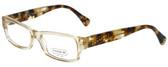 Coach Designer Eyeglasses HC6030-5074 in Sand 52mm :: Rx Bi-Focal