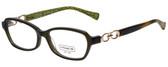 Coach Designer Reading Glasses HC6017-5036 in Dark Olive 52mm