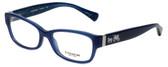 Coach Designer Reading Glasses HC6078-5397 in Milky Navy 52mm