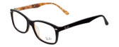 Ray Ban Prescription Eyeglasses RX5228F-5409 Dark Havana 55mm Progressive Lens