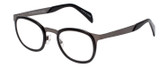 EyeBobs Spank Me Designer Reading Eye Glasses in 760-00 Black/Silver 44mm
