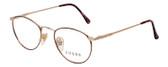 Guess Rx Single Vision Eyeglasses GU346 DA/YG 49mm in Demi Havana Tortoise/Gold